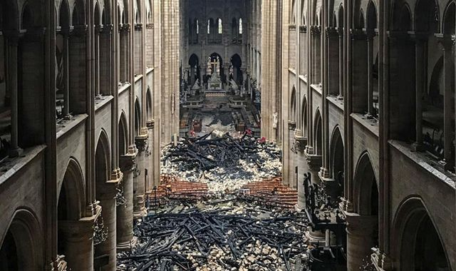 Notre-Dame: Macron vows to rebuild cathedral in five years as €700m is raised