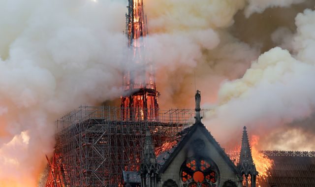 Notre-Dame: World leaders react to devastating fire
