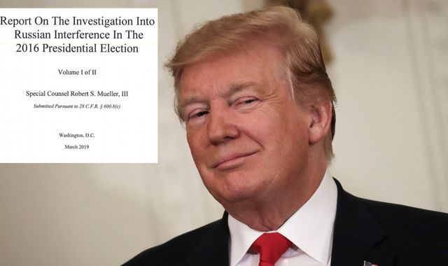 Mueller report: Donald Trump 'tried to get ex-FBI chief fired' during Russia investigation
