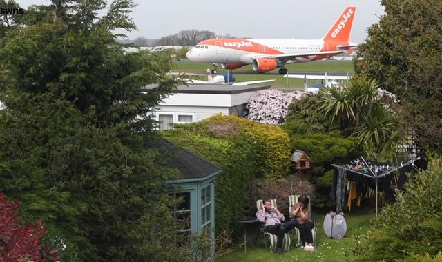 Fury as Southend Airport revamp leaves jets taxiing just 150ft away from pensioner's garden