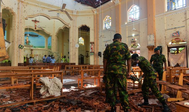 Sri Lanka suicide bombers were from wealthy families, minister reveals