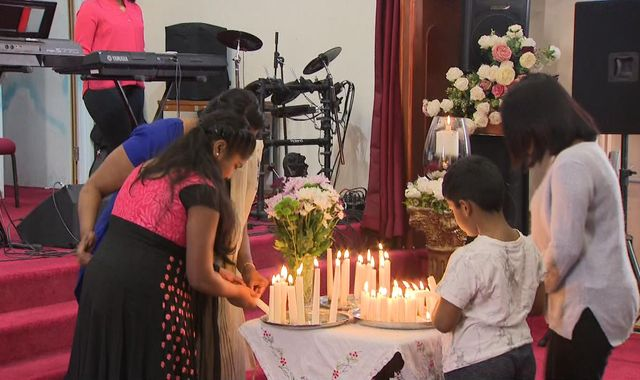'Heartbreaking': Sri Lanka relatives mourn at UK sister church