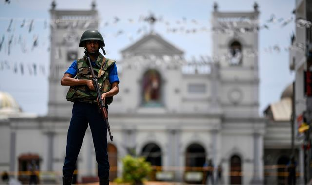 Sri Lanka attacks: Jittery unease remains as terror manhunt continues