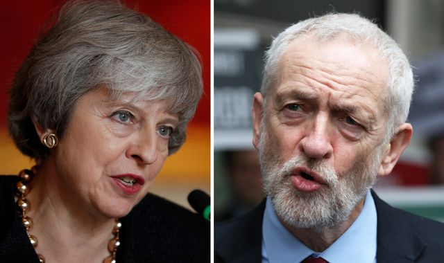 May and Corbyn highlight persecution of Christians and refugee crisis in Easter messages