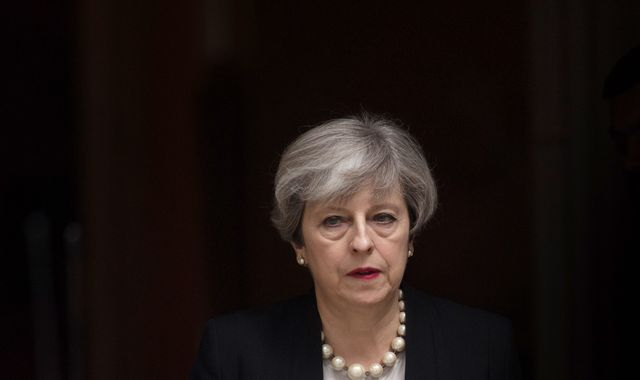 Theresa May clinging on as prime minister as Conservative MPs spark open warfare