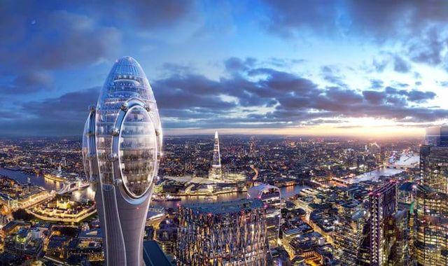 'Tulip' skyscraper plans blocked by London mayor Sadiq Khan