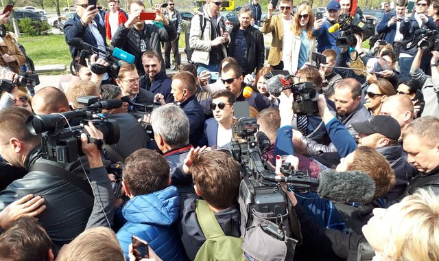 TV star set to uproot corrupt elites in Ukraine