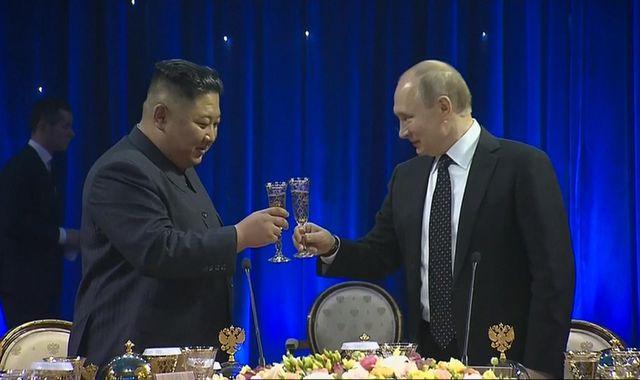 Vladimir Putin says 'smart' Kim Jong Un wants security before dropping nuclear powers