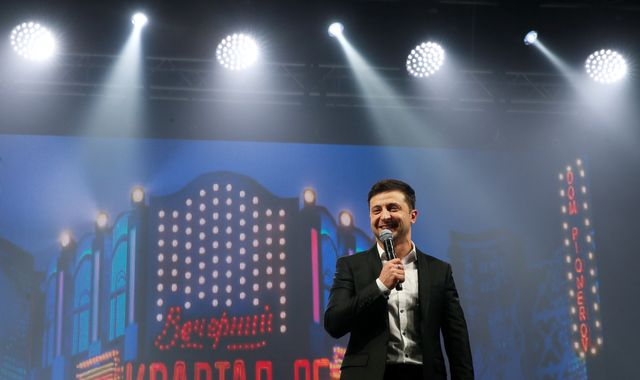 Volodymyr Zelenskiy being president of Ukraine would be like Ant McPartlin becoming prime minister