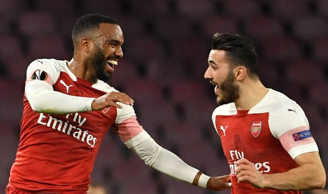 Unai Emery says Arsenal have proven themselves on big stage after impressive win in Napoli