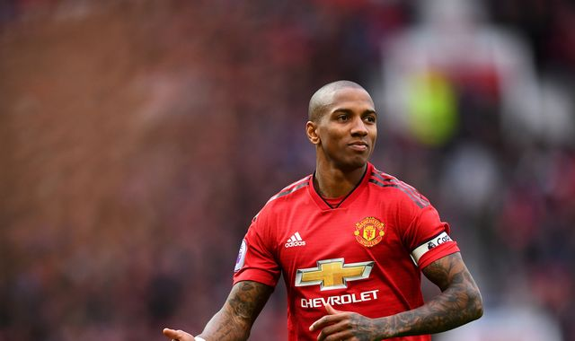 Ashley Young defends 'strong' Manchester United dressing room
