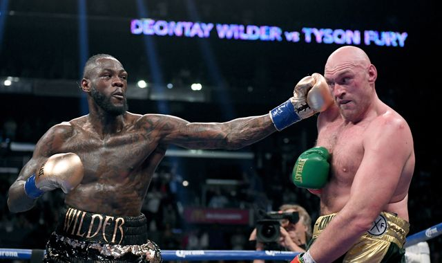 Deontay Wilder says Anthony Joshua fight is 'inevitable'
