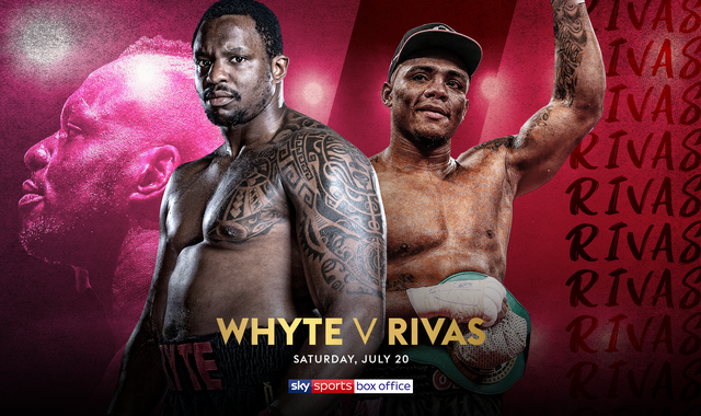 Whyte vs Rivas: Dillian Whyte confirms high-risk clash with Oscar Rivas on Sky Sports Box Office