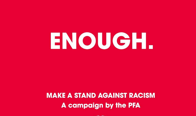 Sky Sports supports PFA's anti-racism #Enough campaign