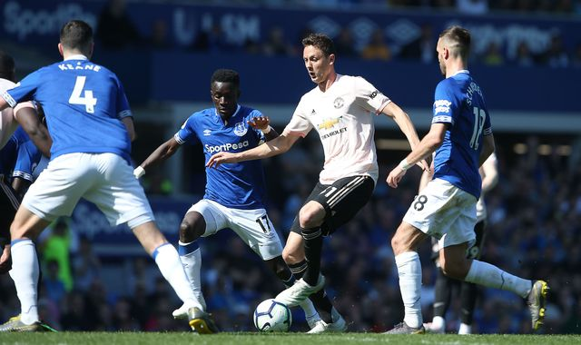 Nemanja Matic says he was 'biggest problem' in Manchester United's defeat at Everton