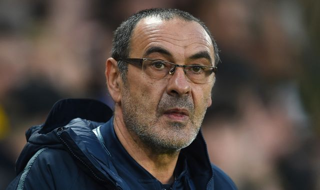 Chelsea boss Maurizio Sarri plans talks over future after Europa League final