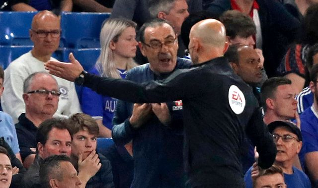 Chelsea head coach Maurizio Sarri charged with misconduct