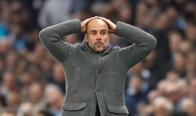 Pep Guardiola says Manchester City's defeat to Tottenham will 'hurt' for some time
