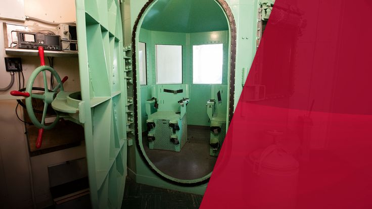 A gas chamber at San Quentin Prison