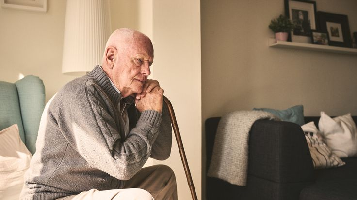 Sky News has looked at how older men are dealing with loneliness