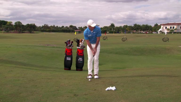 In the second tutorial of the week, GOLFPASS founder Rory McIlroy takes us through his thought process for getting up and down from off the green.