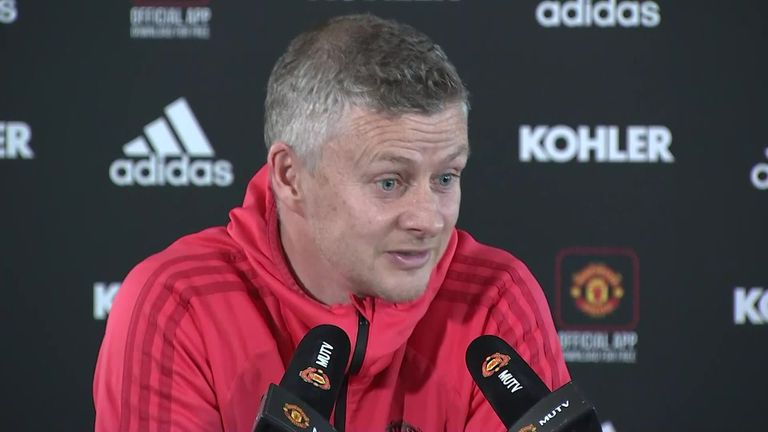 Solskjaer says there is no room for racism in football in 2019
