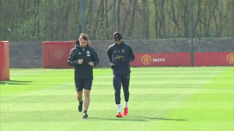 Ole Gunnar Solskjaer gives injury updates on Herrera, Marcus Rashford, Nemanja Matic, Eric Bailly and Antonio Valencia.