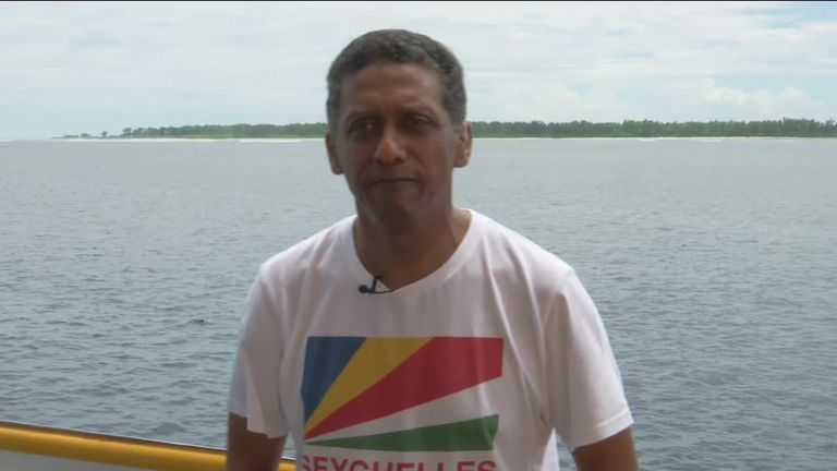 Seychelles leader: 'Time has come to save the oceans'