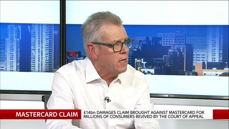 Screen shot of ex-Financial Ombudsman Walter Merricks on Ian King Live, Wednesday April 17th.
