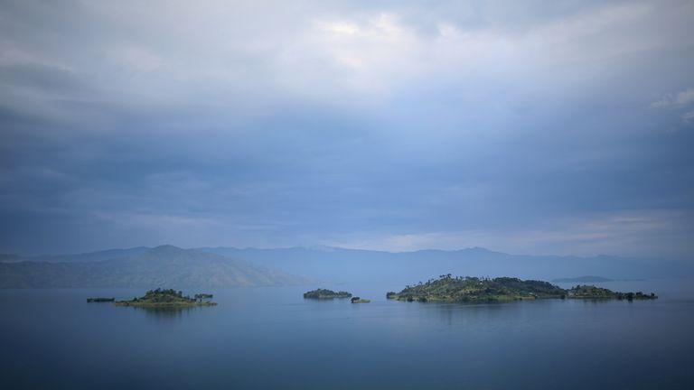 Lake Kivu in the Democratic Republic of Congo