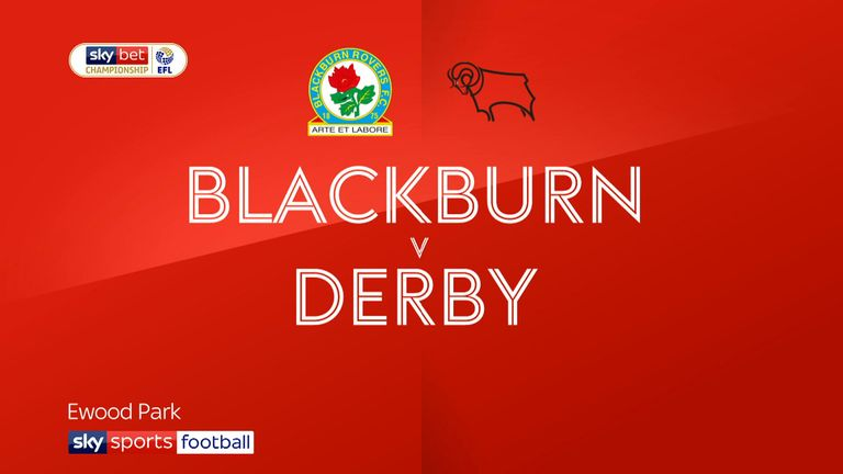 Blackburn 2 - 0 Derby - Match Report & Highlights