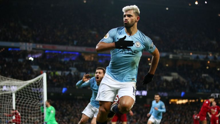 We take a look at some of Sergio Aguero's best Premier League goals this season, which has helped earn him a PFA Player of the Year nomination