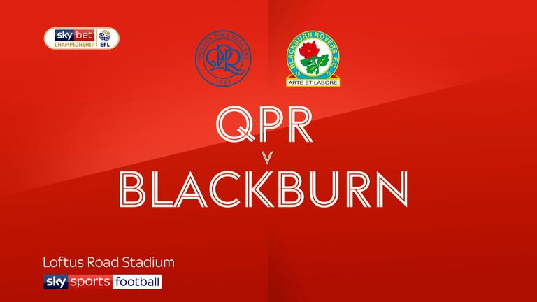 Highlights of the Sky Bet Championship match between QPR and Blackburn