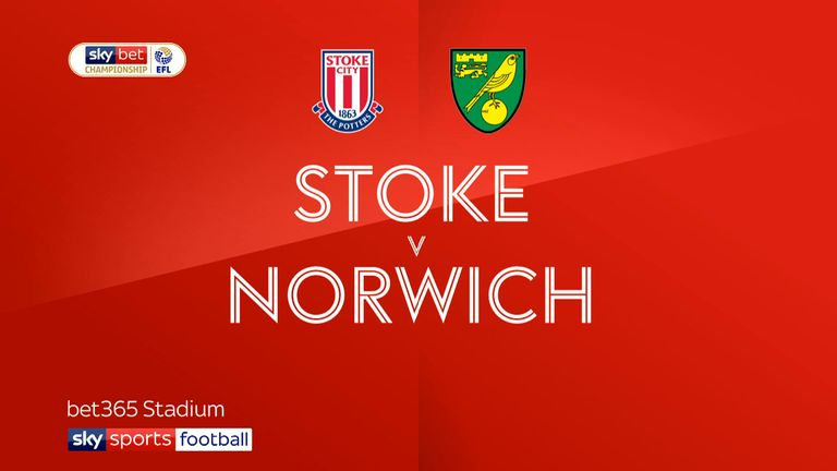 Stoke City vs. Norwich City - Football Match Report