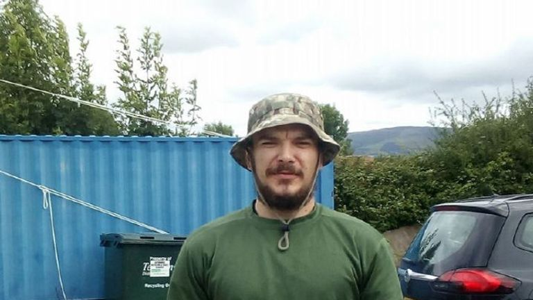 Aidan James joined Kurdish fighters in Syria to fight Isis soldiers