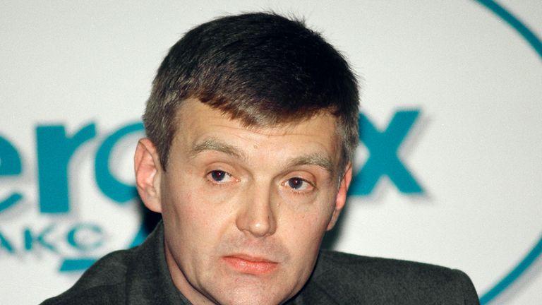 Alexander Litvinenko was poisoned in a London restaurant in 2006