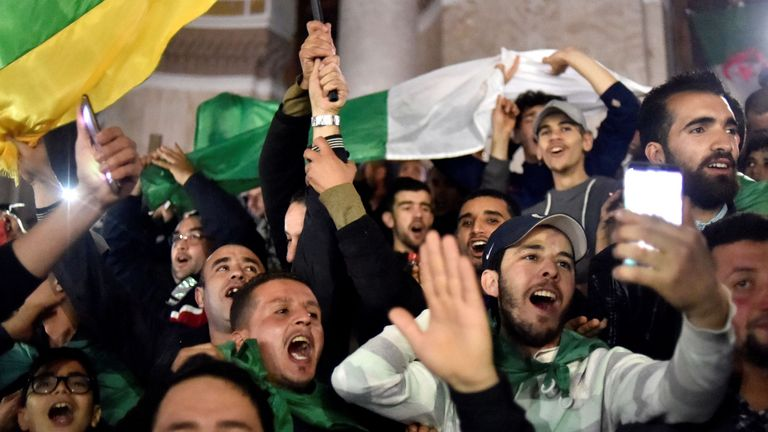 Algeria's president quits after warning from army chief