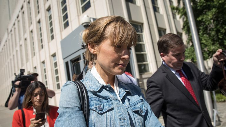 Television actress Allison Mack pleaded guilty to blackmail charges earlier this month