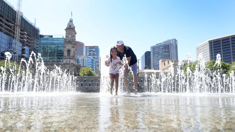 The State Emergency Service (SES) in Adelaide issued an Extreme Heatwave Emergency Warning