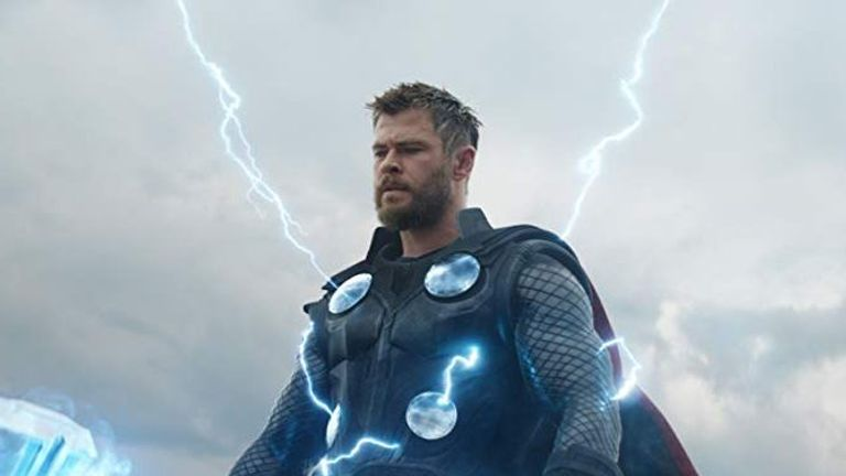 Chris Hemsworth as Thor in Avengers: Endgame. Pic: Marvel