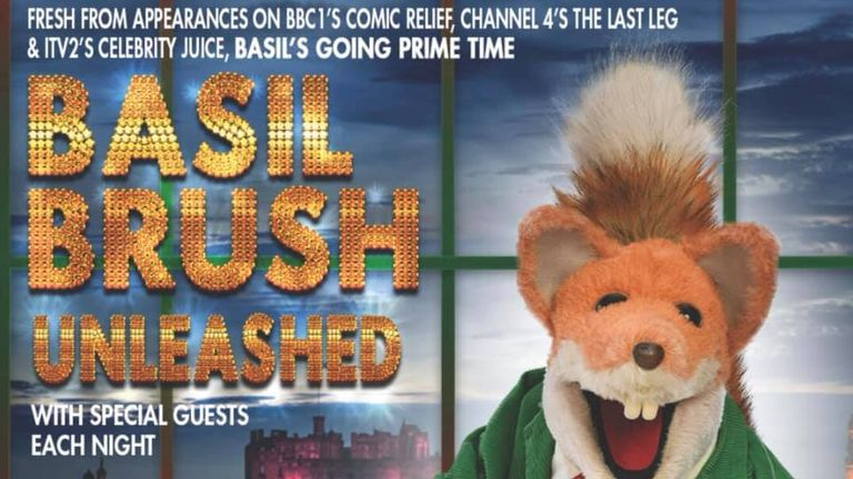 Basil will host an 'unleashed' stage show at the fringe