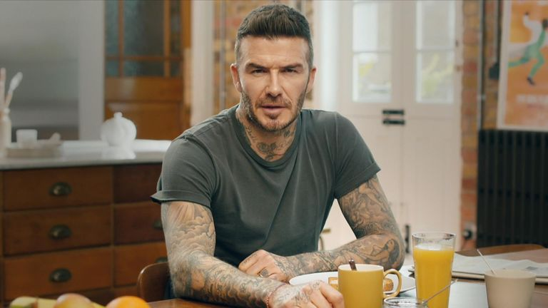 David Beckham fronts a video encouraging people to tell leaders to end Malaria. Pic: Malaria Must Die