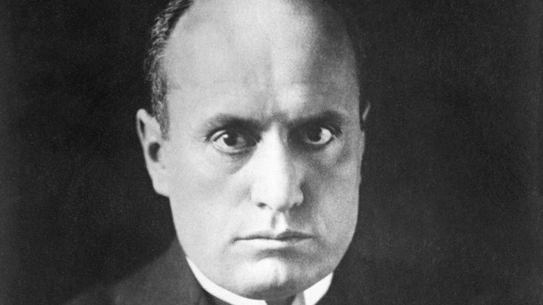 Benito Mussolini was Italy's dictator for two decades and plunged the country into World War II