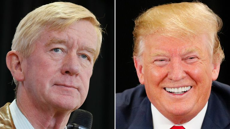 Bill Weld is challenging Donald Trump to the Republican nomination
