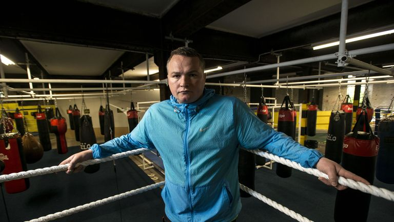 Bradley Welsh also owned a boxing gym in Edinburgh. Pic: Rex
