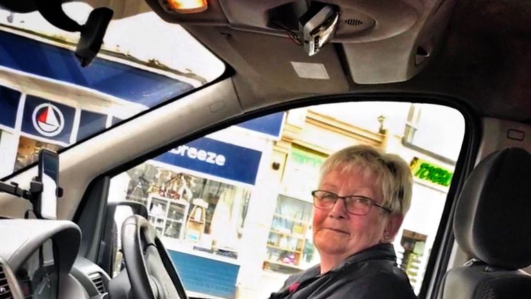 Torquay taxi driver Anne Daulby's one word assessment of Brexit? 'Disappointing'