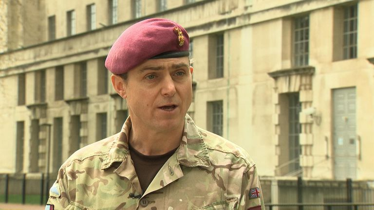 Brigadier Nick Perry, Commander 16 Air Assault Brigade, Parachute Regiment