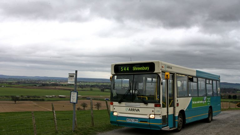 File photo dated 15/03/07 of a local bus service. Labour is launching a new policy to reverse cuts to 3,000 bus routes in England and Wales.
