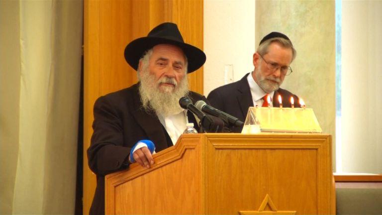 Shooting survivor rabbi: Antisemitism is getting worse
