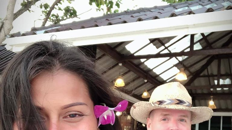 Chad Elwartowski and Supranee Thepdet